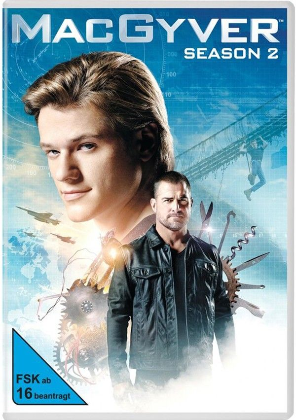 MacGyver S2, DVD-Cover