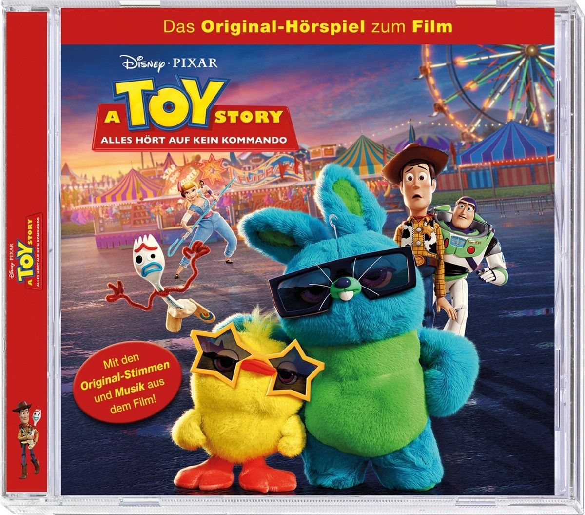 A Toy Story, CD-Cover